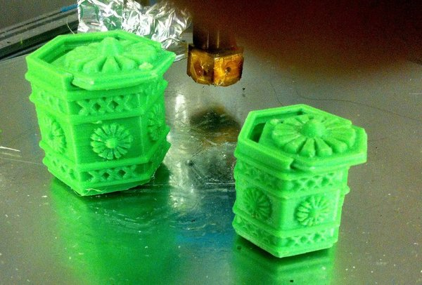 Medium Amsterdam Green-box 3D Printing 34585