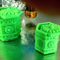 Small Amsterdam Green-box 3D Printing 34585