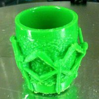 Small Dragonfly cup 3D Printing 34591