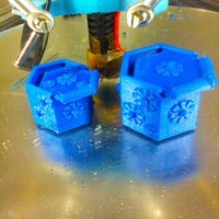 Small flower box 3D Printing 34594