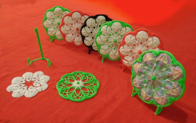 Muladhar-art collection. Mandala eight petals 3D Print 34602