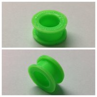 Small Flesh tunnel 16mm 3D Printing 34611