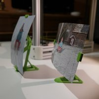 Small Stand for floating photo frame 3D Printing 34647