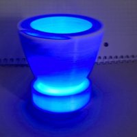 Small LED illuminated ice cup 3D Printing 34658