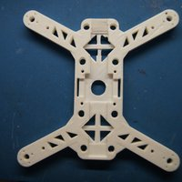 "Small ""Mini-Me"" 200mm Quadcopter Frame 3D Printing 34673"