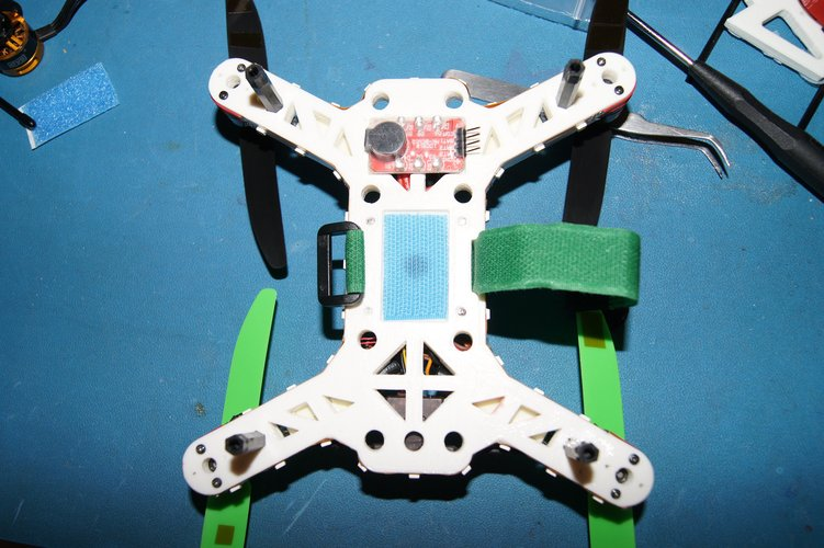 """Mini-Me"" 200mm Quadcopter Frame 3D Print 34676"