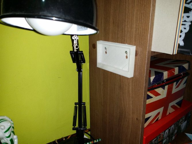 Simple wall mount tablet holder 3D Print 34698