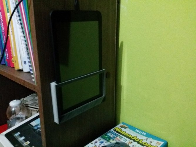 Simple wall mount tablet holder 3D Print 34700