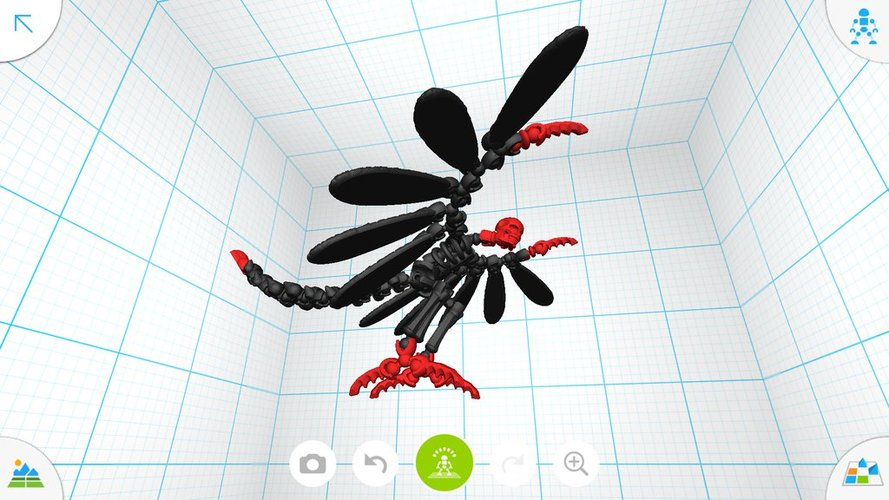 Flying demon - Tinkerplay Toy 05 3D Print 34756