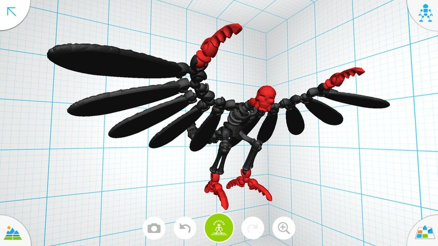 Flying demon - Tinkerplay Toy 05 3D Print 34759