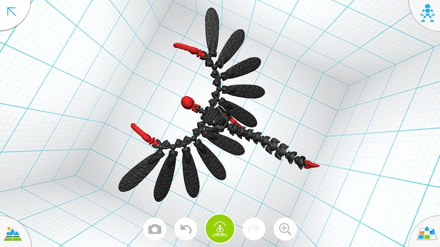 Flying demon - Tinkerplay Toy 05 3D Print 34761