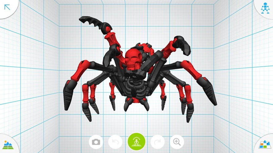 Scorpion Demon - Tinkerplay Toy 03 3D Print 34770