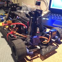 Small 3-D Printable RC Car 3D Printing 34823