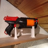 Small Nerf Strongarm Stand 3D Printing 34856