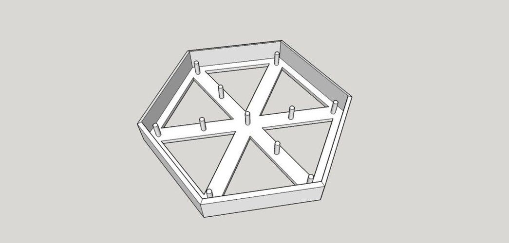 Ingress Glyph Cookie Cutter 3D Print 34871
