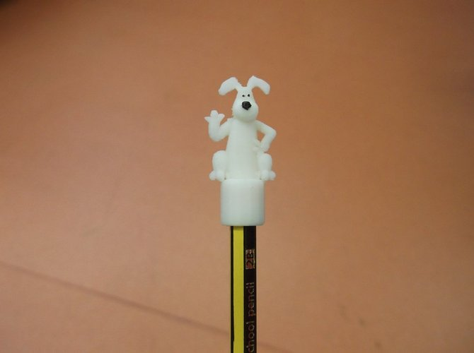 Popular Cartoon/Plasticine dog Pencil topper 3D Print 34907