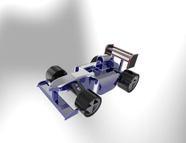 Another F1 style Car 3D Print 34910