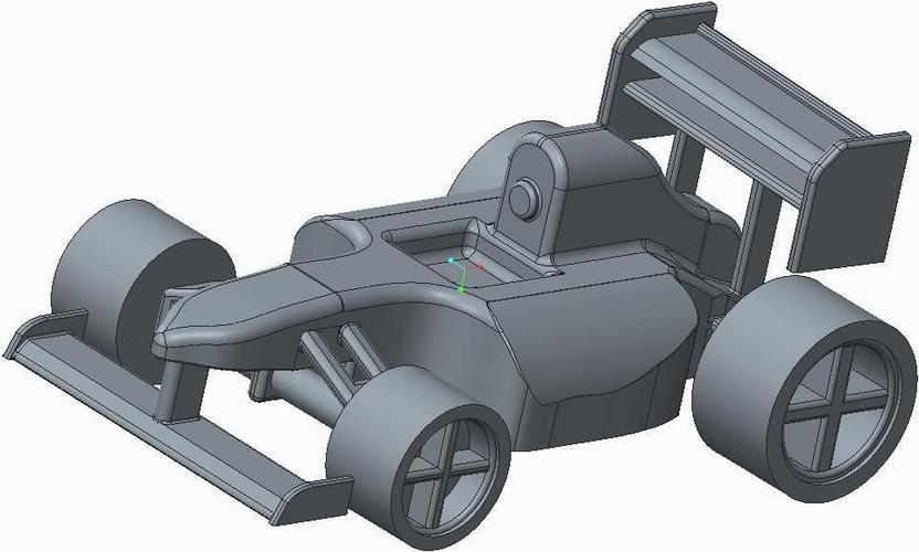 Another F1 style Car 3D Print 34911