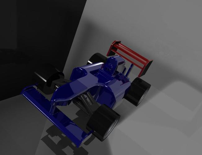 Another F1 style Car 3D Print 34912