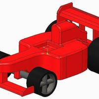 Small F1 Type car 3D Printing 34913
