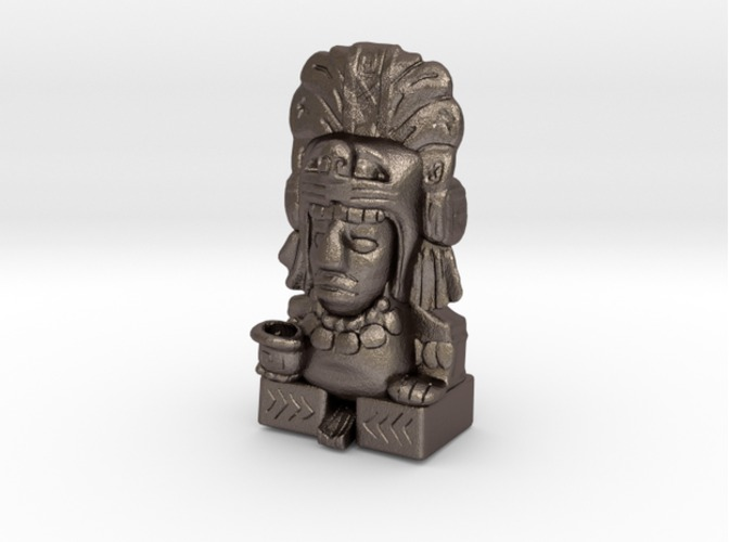 Aztec Pen Holder 3D Print 34938
