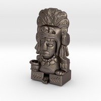 Small Aztec Pen Holder 3D Printing 34938