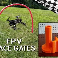 Small FPV Race Gates 3D Printing 35151