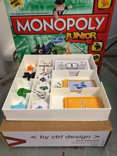 monopoly junior 3D Print 35203
