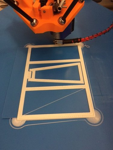 pictureframe with hinge 3D Print 35233