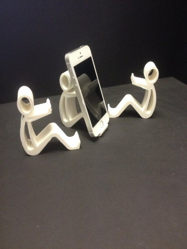Medium Phone holder Phone stand 3D Printing 35256
