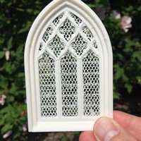 Small church window 3D Printing 35285