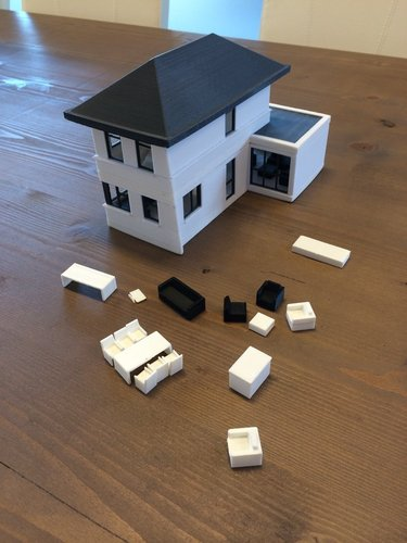 house scale 1:50 3D Print 35290