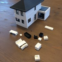 Small house scale 1:50 3D Printing 35290