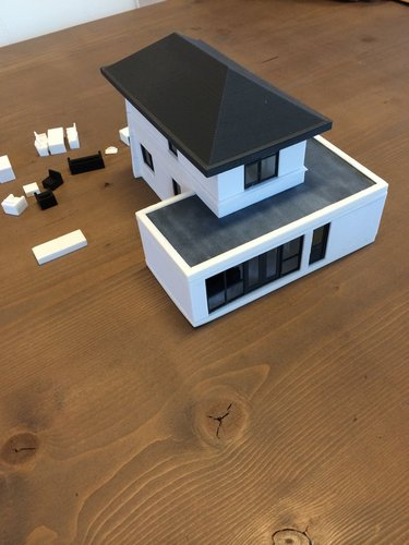house scale 1:50 3D Print 35291