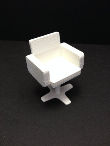hairdresser chair 3D Print 35318