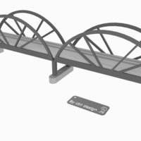 Small Trainbridge 3D Printing 35319