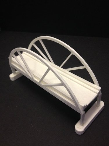Trainbridge 3D Print 35320