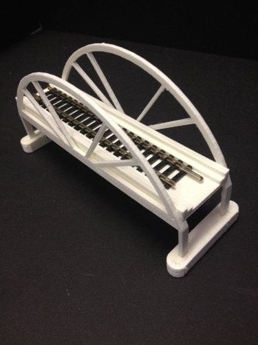 Trainbridge 3D Print 35321