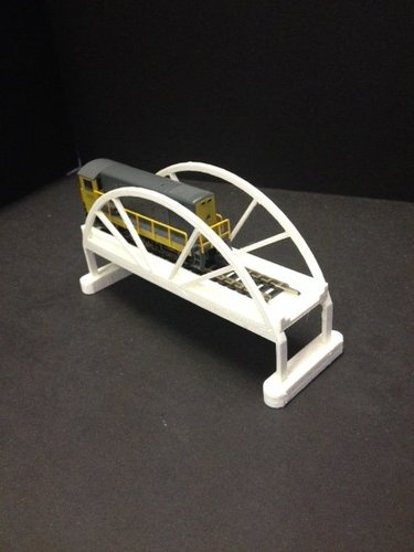 Trainbridge 3D Print 35322