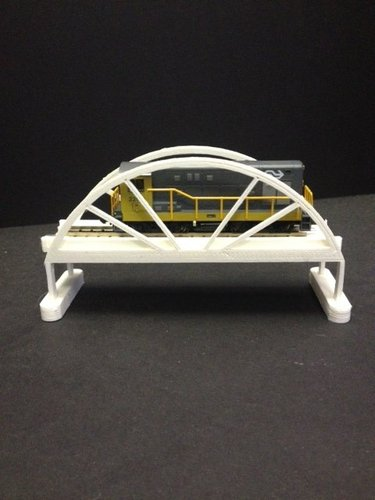 Trainbridge 3D Print 35323