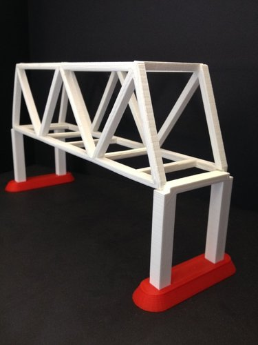 one way bridge 3D Print 35331