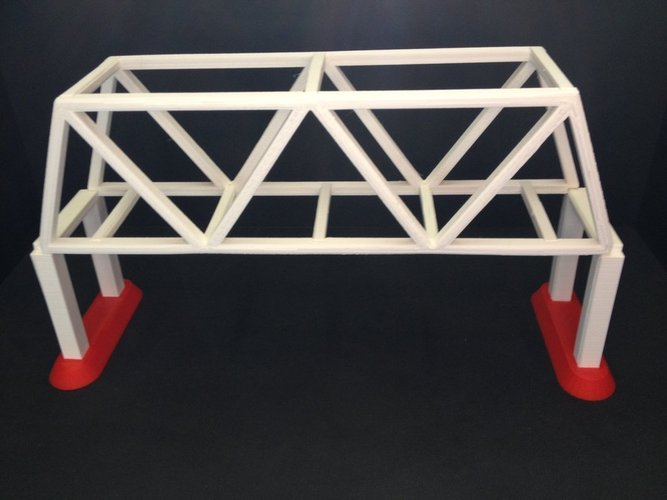 one way bridge 3D Print 35332