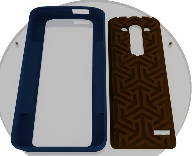 LG G3 CUSTOMIZABLE covers for ECLON cases  3D Print 35388