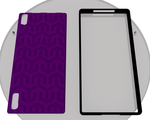 Huawei P7 CUSTOMIZABLE covers for ECLON cases 3D Print 35393