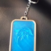 Small Customizable keychains for 3d printing, print your favorites 3D Printing 35404