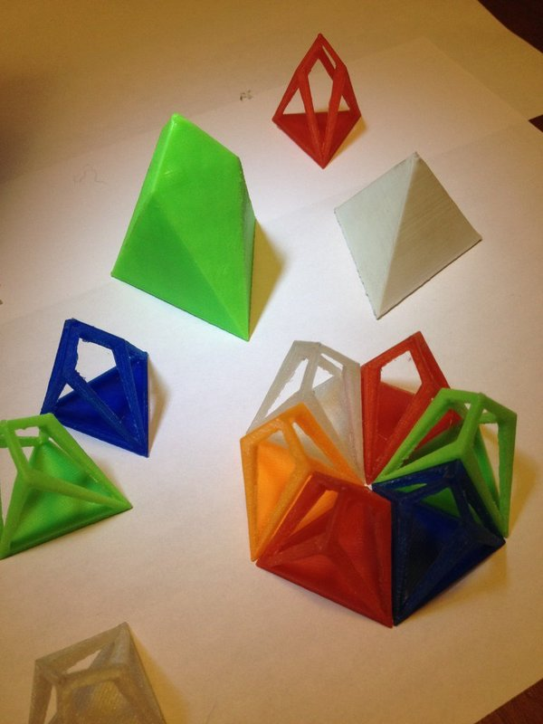 Medium  Chestahedron 3D Printing 35419