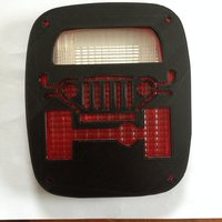 Small Jeep tail light cover 2 3D Printing 35422