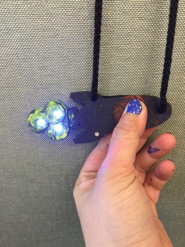 LED Spaceship Badge! 3D Print 35461