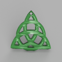 Small Triquetra 3D Printing 354610