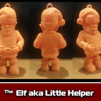 Small The Elf aka Little Helper Ornament 3D Printing 35471